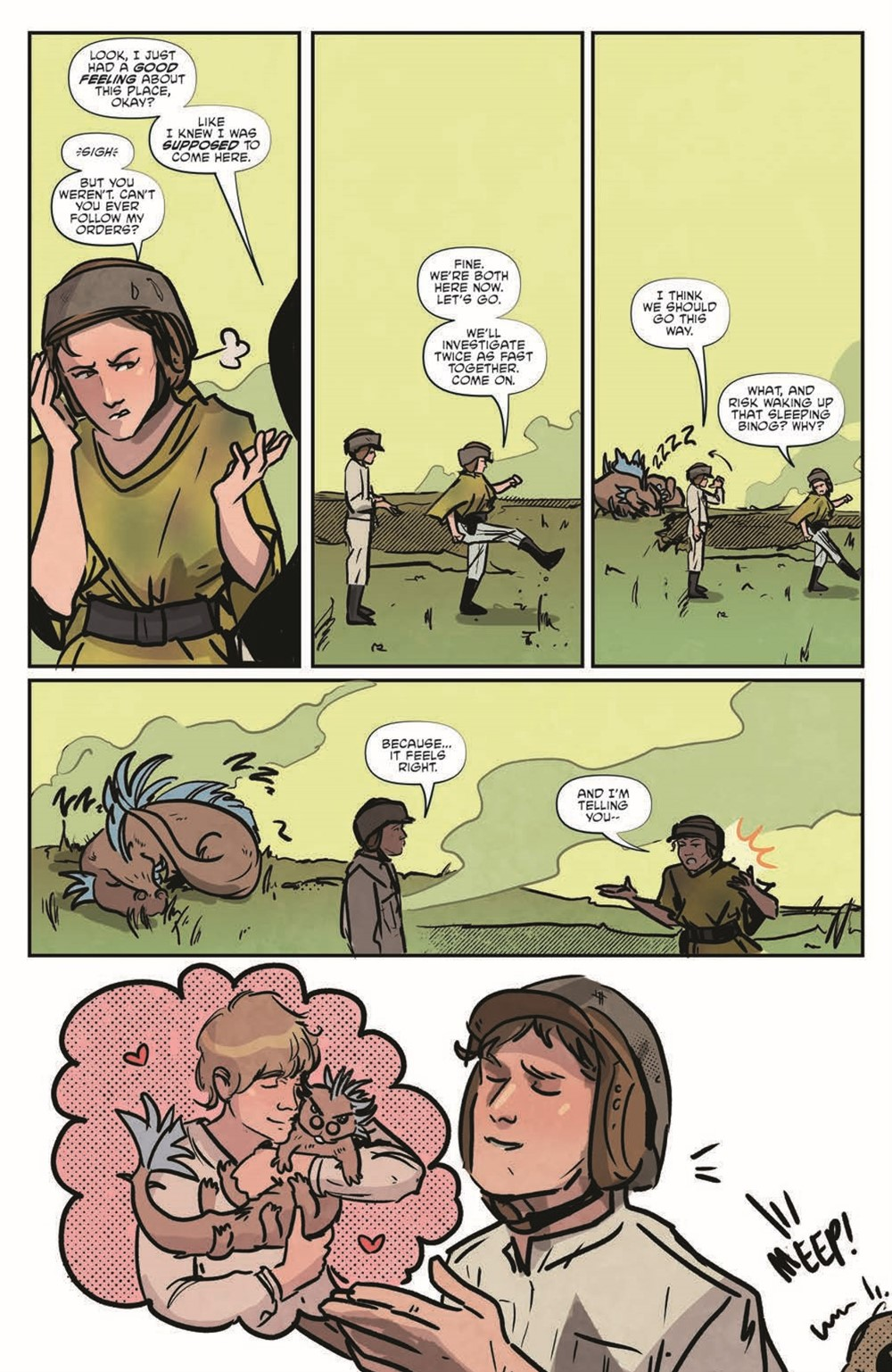 StarWarsAdv07-pr-7 ComicList Previews: STAR WARS ADVENTURES VOLUME 2 #7