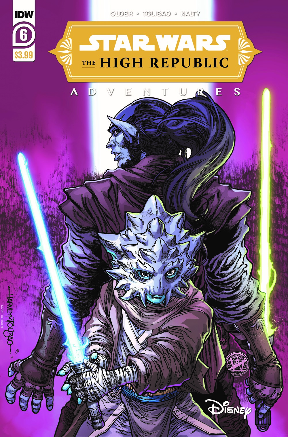StarWarsHighRepublic-06-A ComicList: IDW Publishing New Releases for 07/21/2021