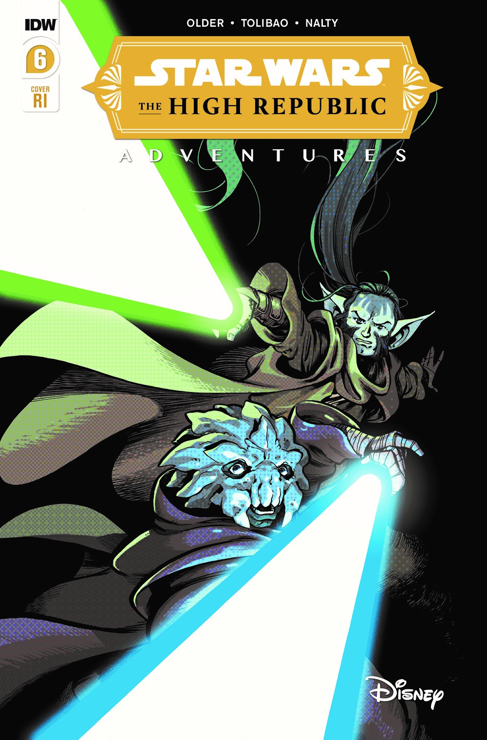 StarWarsHighRepublic-06-RI ComicList Previews: STAR WARS THE HIGH REPUBLIC ADVENTURES #6