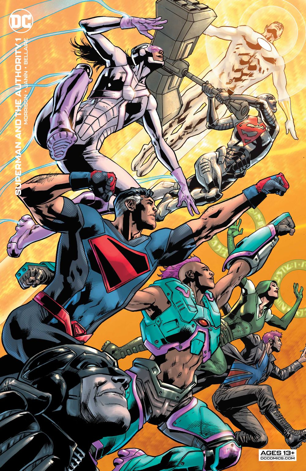 Superman-and-the-Authority-1-2_60ee5ea1b1b6c7.92233079 ComicList Previews: SUPERMAN AND THE AUTHORITY #1 (OF 4)
