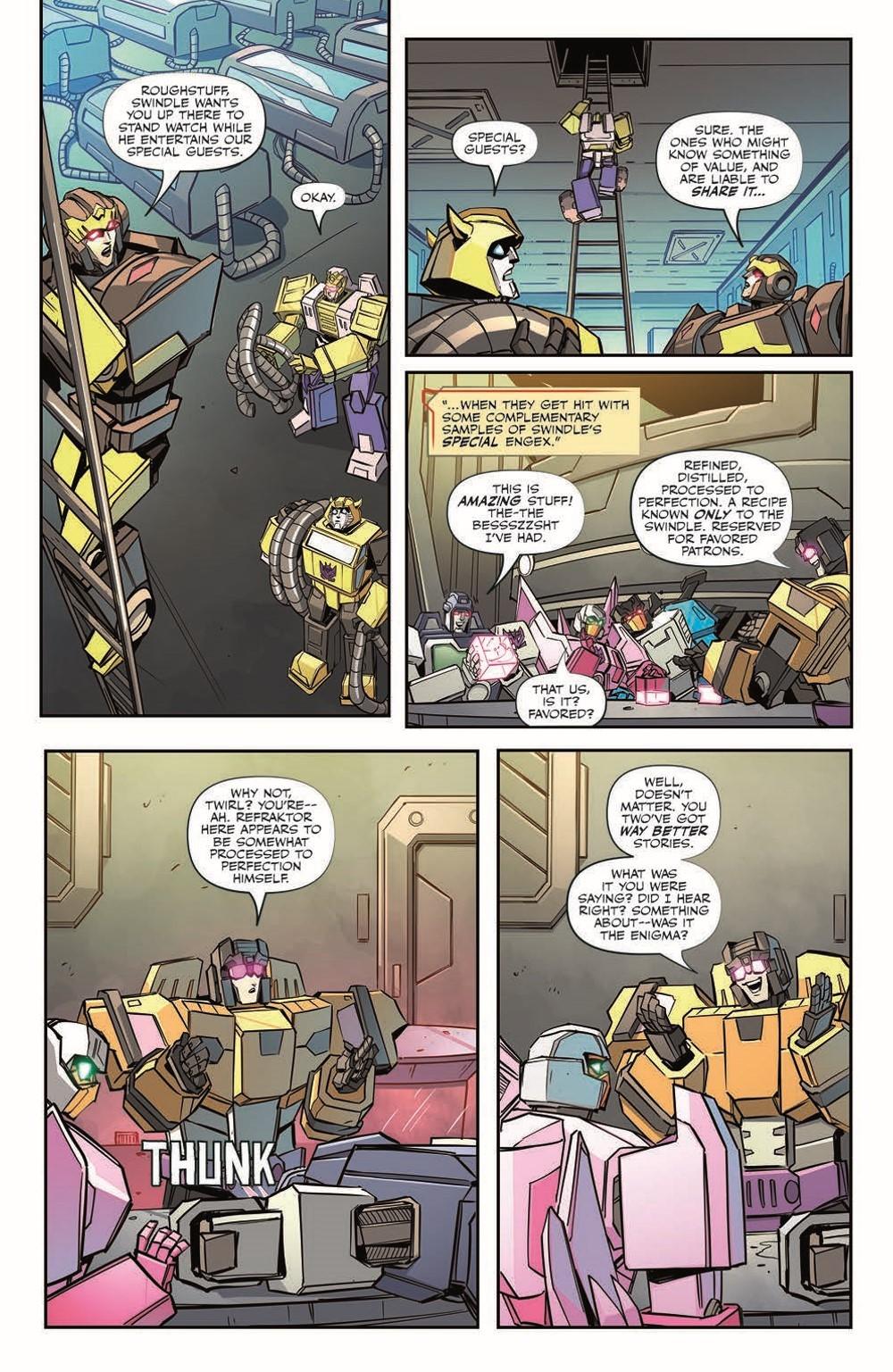 TF33-pr-7 ComicList Previews: TRANSFORMERS #33