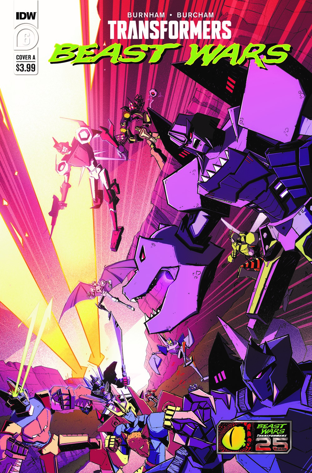 TFBW06-Cover-A ComicList Previews: TRANSFORMERS BEAST WARS #6