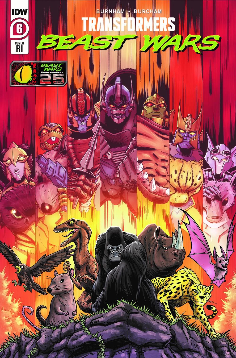 TFBW06-Cover-RI ComicList Previews: TRANSFORMERS BEAST WARS #6