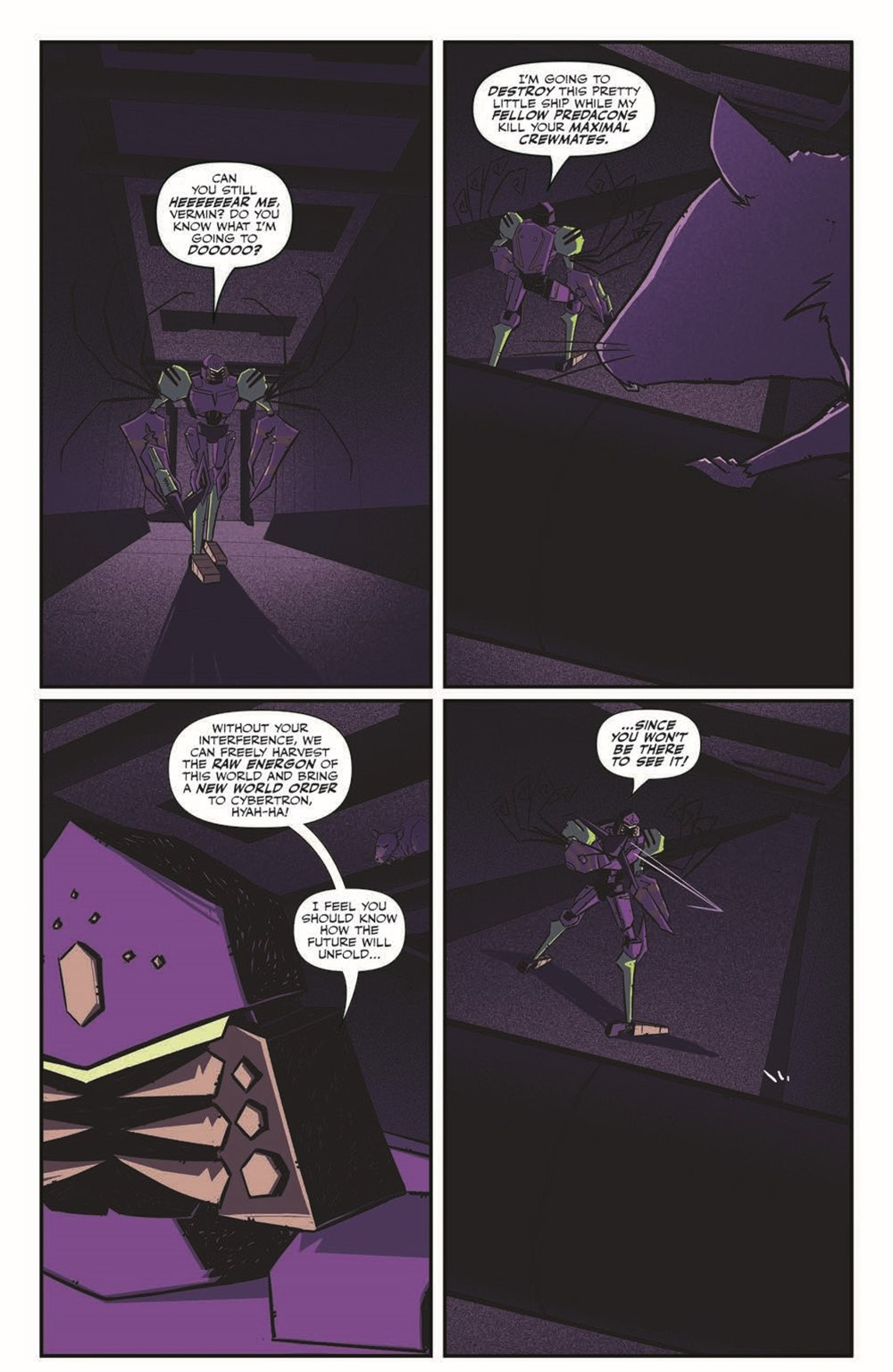 TFBW_06_pr-3 ComicList Previews: TRANSFORMERS BEAST WARS #6