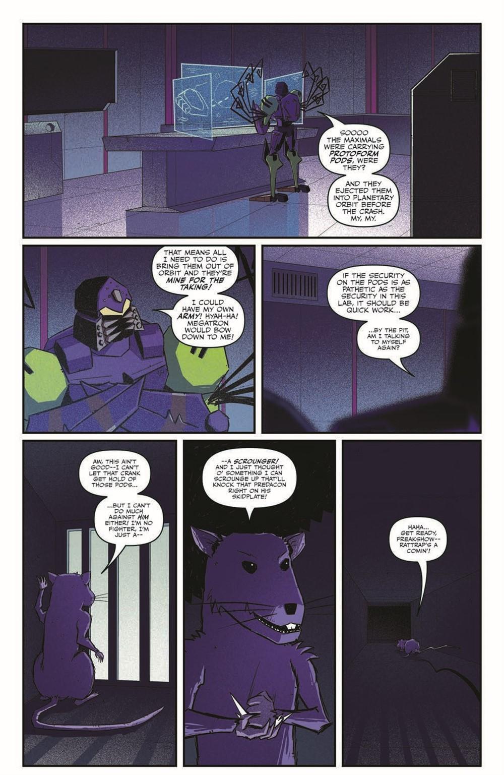 TFBW_06_pr-7 ComicList Previews: TRANSFORMERS BEAST WARS #6