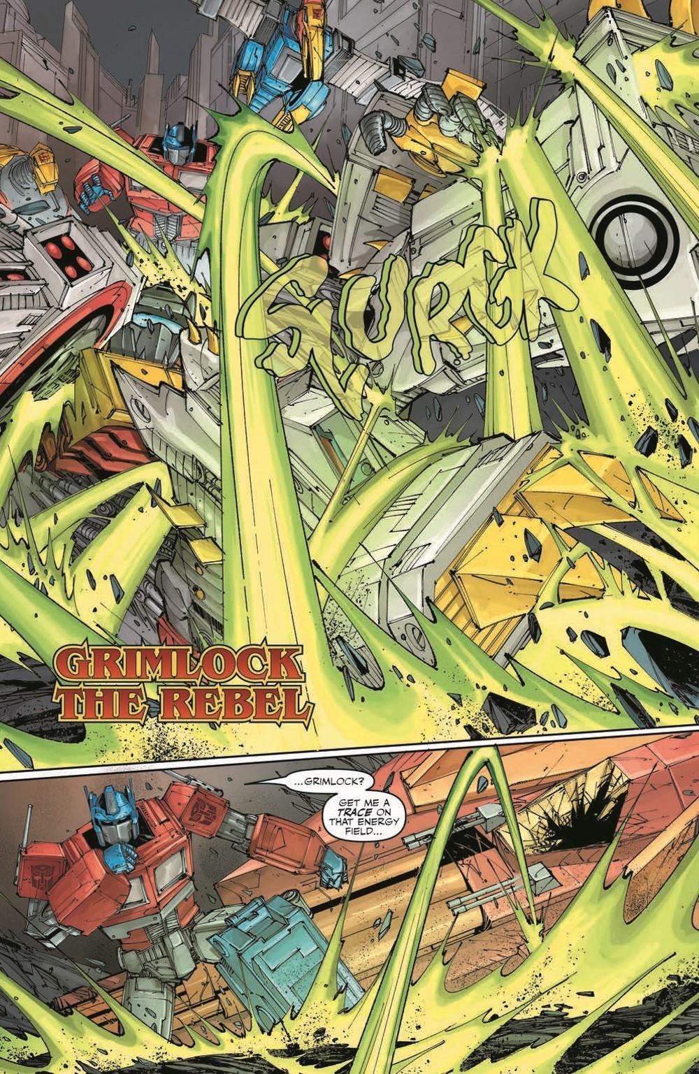 TFKingGrimlock01_pr-6 ComicList Previews: TRANSFORMERS KING GRIMLOCK #1 (OF 5)