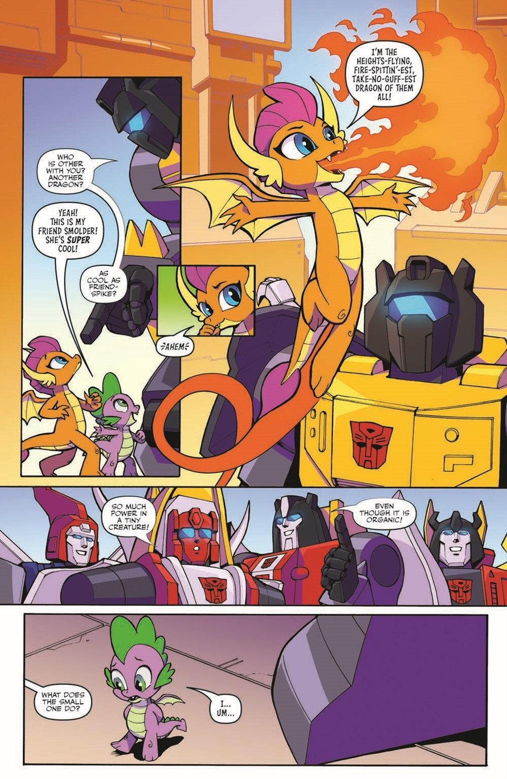 TFMLP2-04-pr-4 ComicList Previews: MY LITTLE PONY TRANSFORMERS II #4 (OF 4)