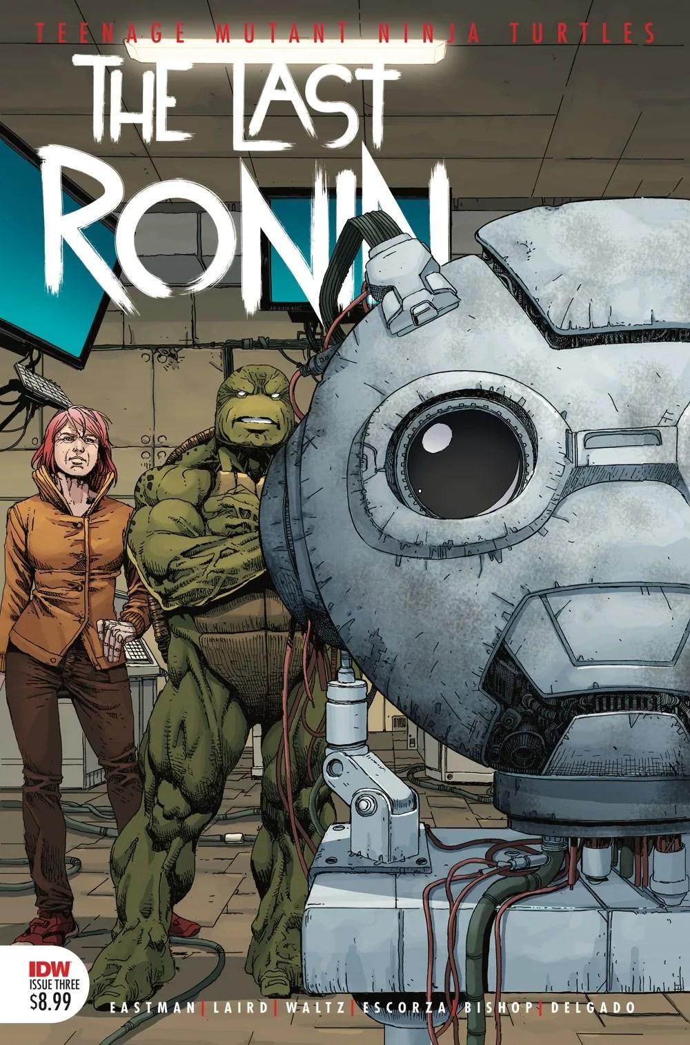 TMNT-LastRonin03_cvr2nd ComicList Previews: TEENAGE MUTANT NINJA TURTLES THE LAST RONIN #3 (OF 5)(2ND PRINTING)