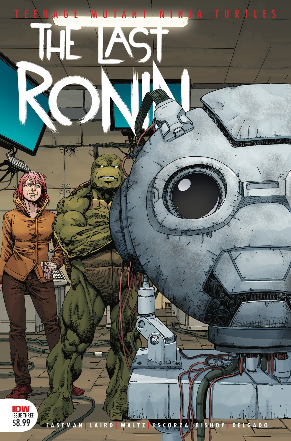 TMNT-LastRonin03_cvr2nd ComicList: IDW Publishing New Releases for 07/28/2021