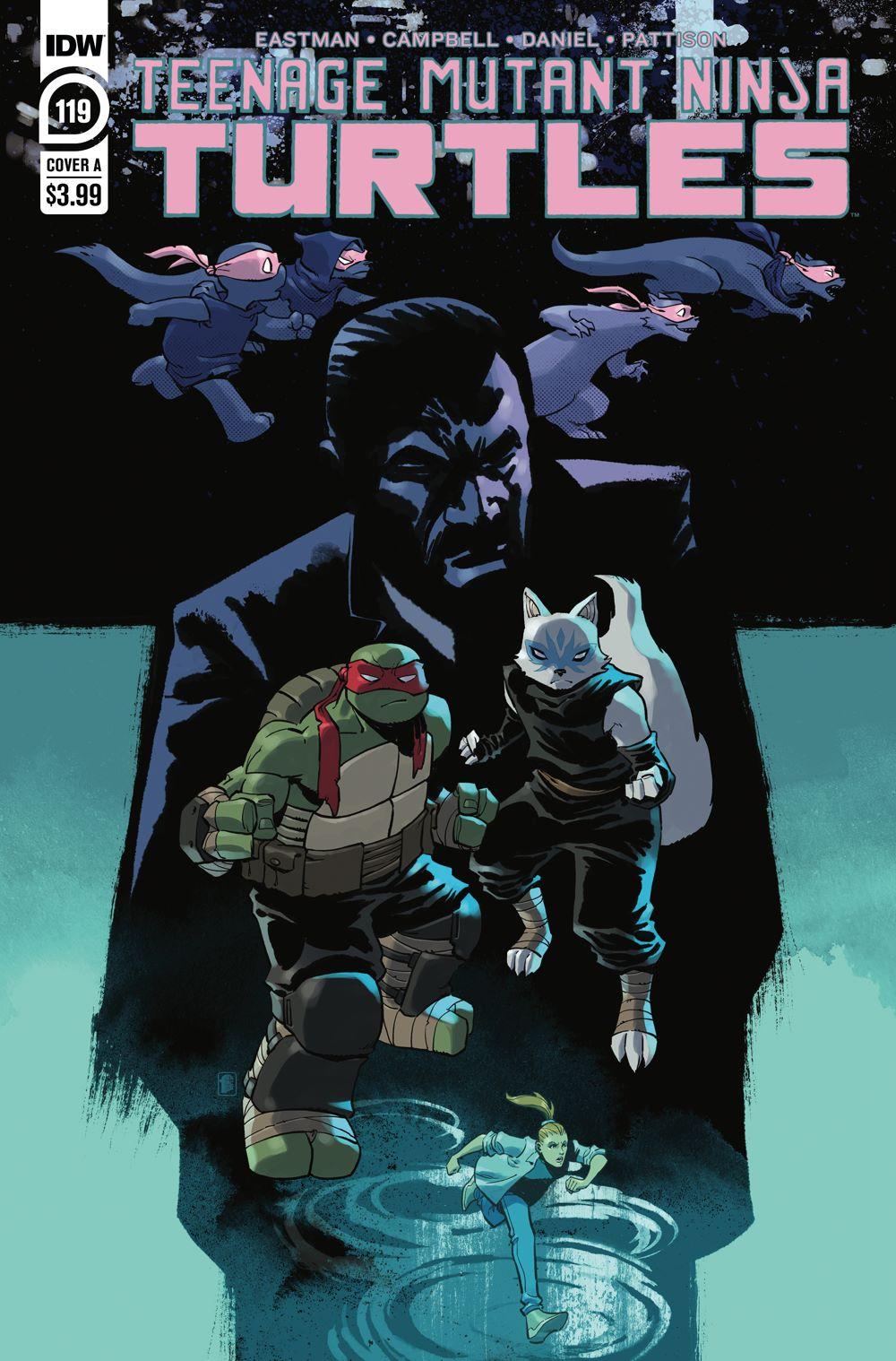 TMNT119_cvrA ComicList Previews: TEENAGE MUTANT NINJA TURTLES #119