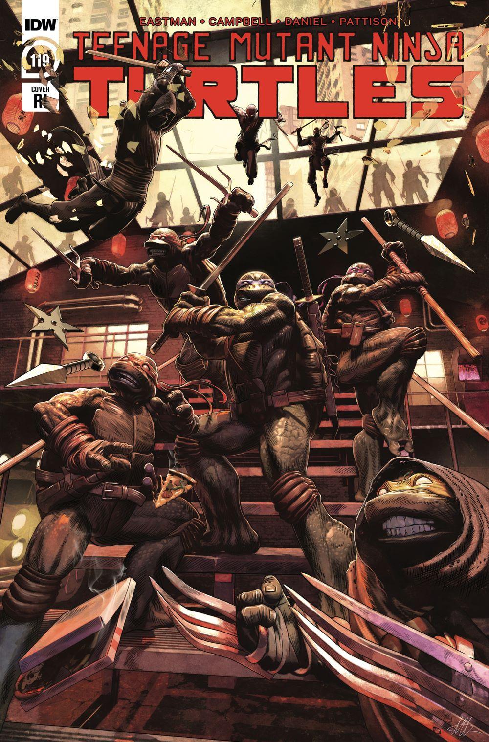 TMNT119_cvrRI ComicList Previews: TEENAGE MUTANT NINJA TURTLES #119