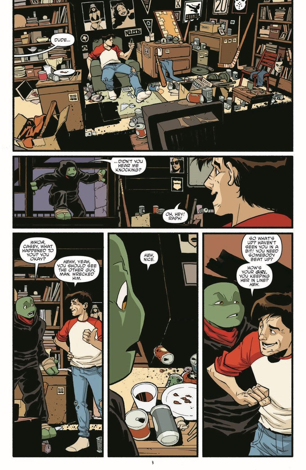 TMNT119_pr-5 ComicList Previews: TEENAGE MUTANT NINJA TURTLES #119