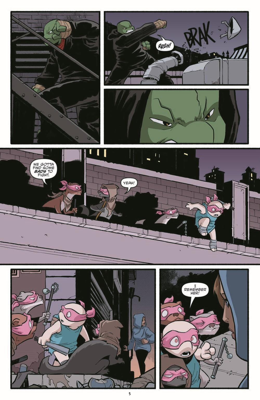 TMNT119_pr-7 ComicList Previews: TEENAGE MUTANT NINJA TURTLES #119