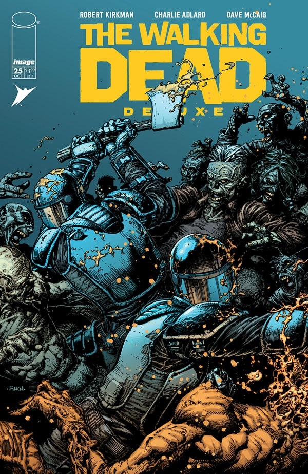 TheWalkingDeadDeluxe_25a_finch Image Comics October 2021 Solicitations