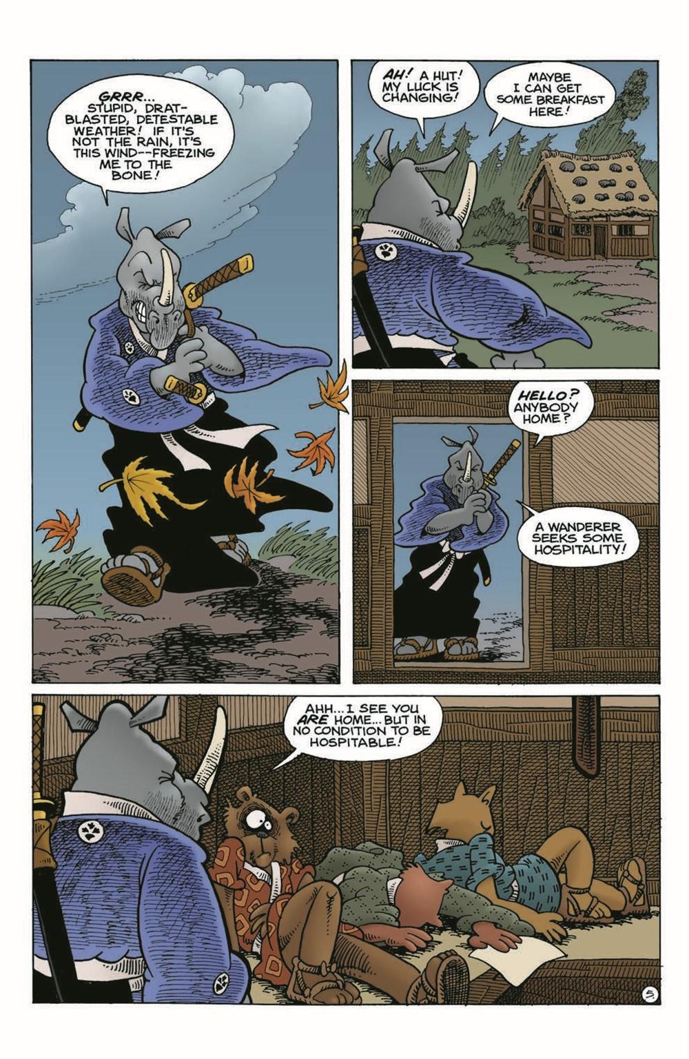 Usagi-DBC02_pr-7 ComicList Previews: USAGI YOJIMBO THE DRAGON BELLOW CONSPIRACY #2 (OF 6)