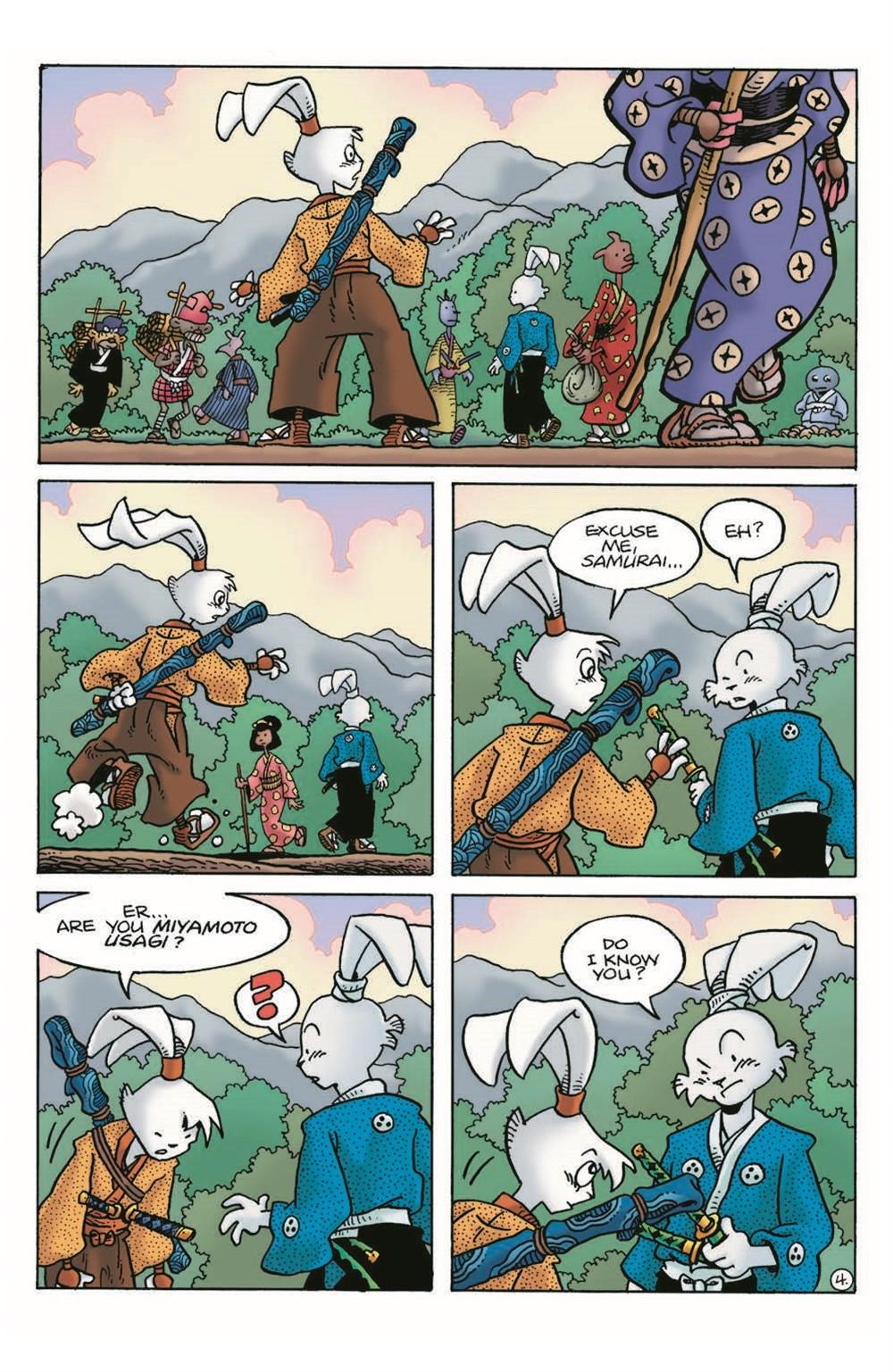 Usagi20_2nd_pr-6 ComicList Previews: USAGI YOJIMBO #20 (2ND PRINTING)