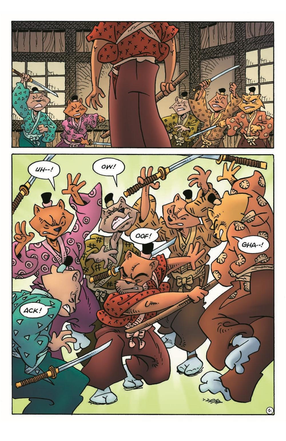 Usagi21_pr-4 ComicList Previews: USAGI YOJIMBO #21