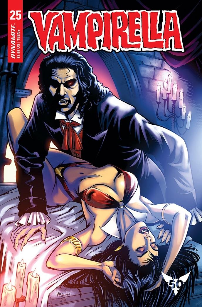 Vampi-25-25091-I-SANAPO Dynamite Entertainment October 2021 Solicitations