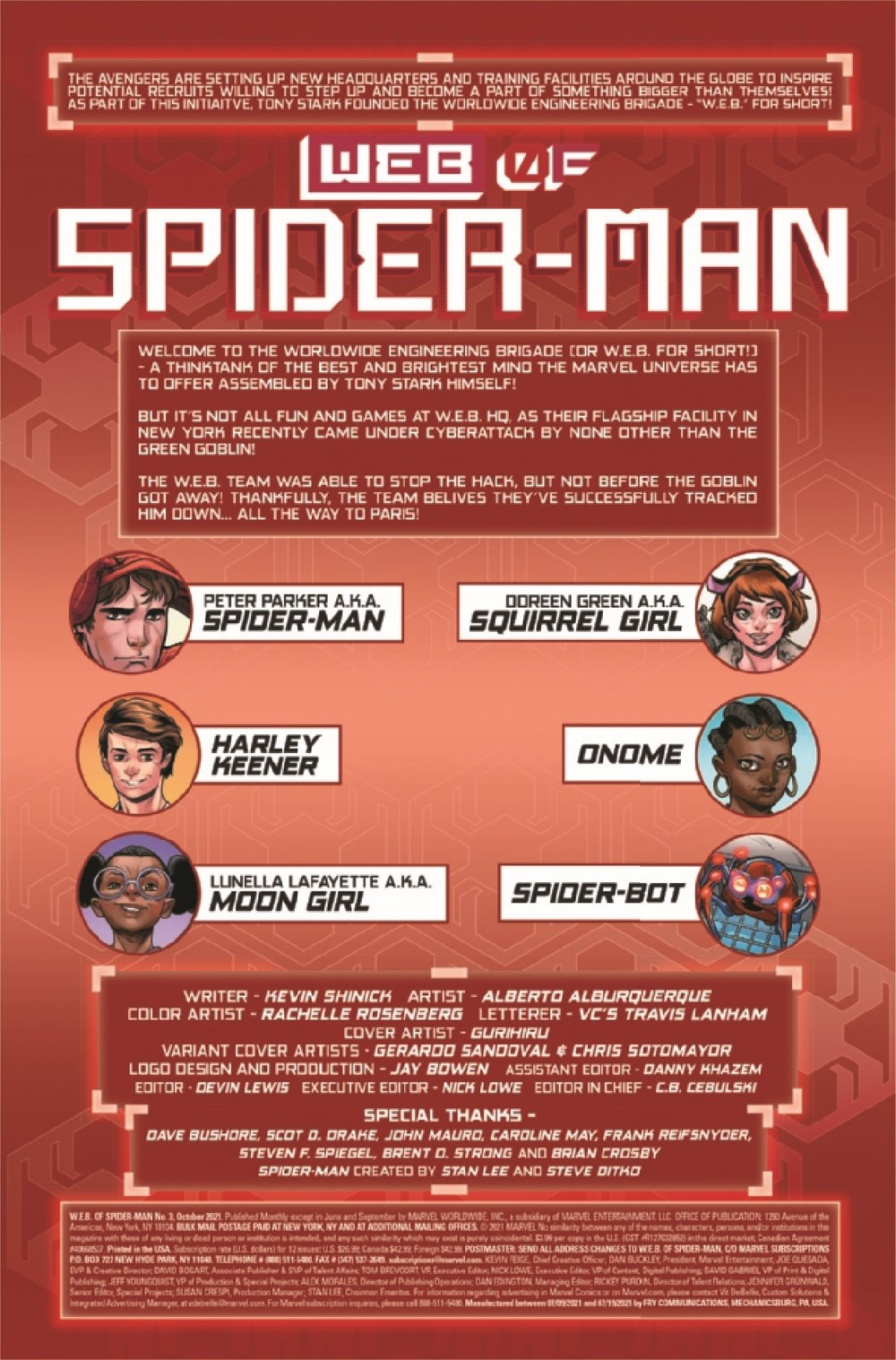 WEBOFSM2020003_Preview-2 ComicList Previews: W.E.B. OF SPIDER-MAN #3 (OF 5)
