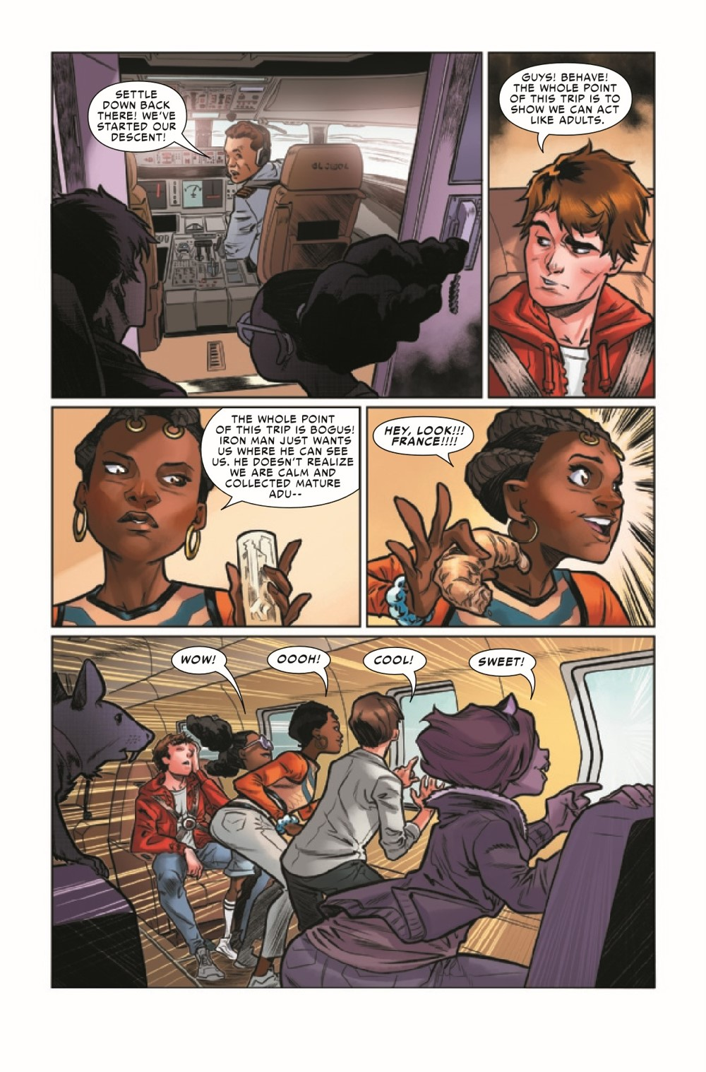 WEBOFSM2020003_Preview-5 ComicList Previews: W.E.B. OF SPIDER-MAN #3 (OF 5)