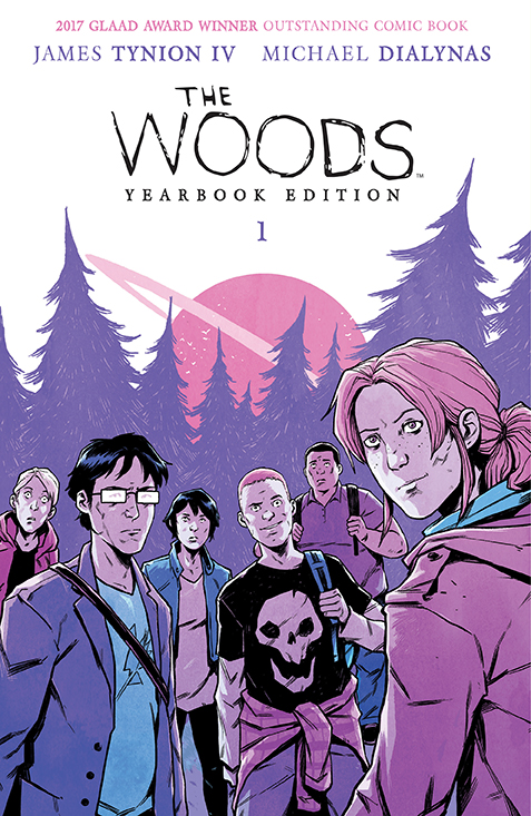 Woods_Yearbook_v1_SC_Cover_HIGH BOOM! Studios October 2021 Solicitations