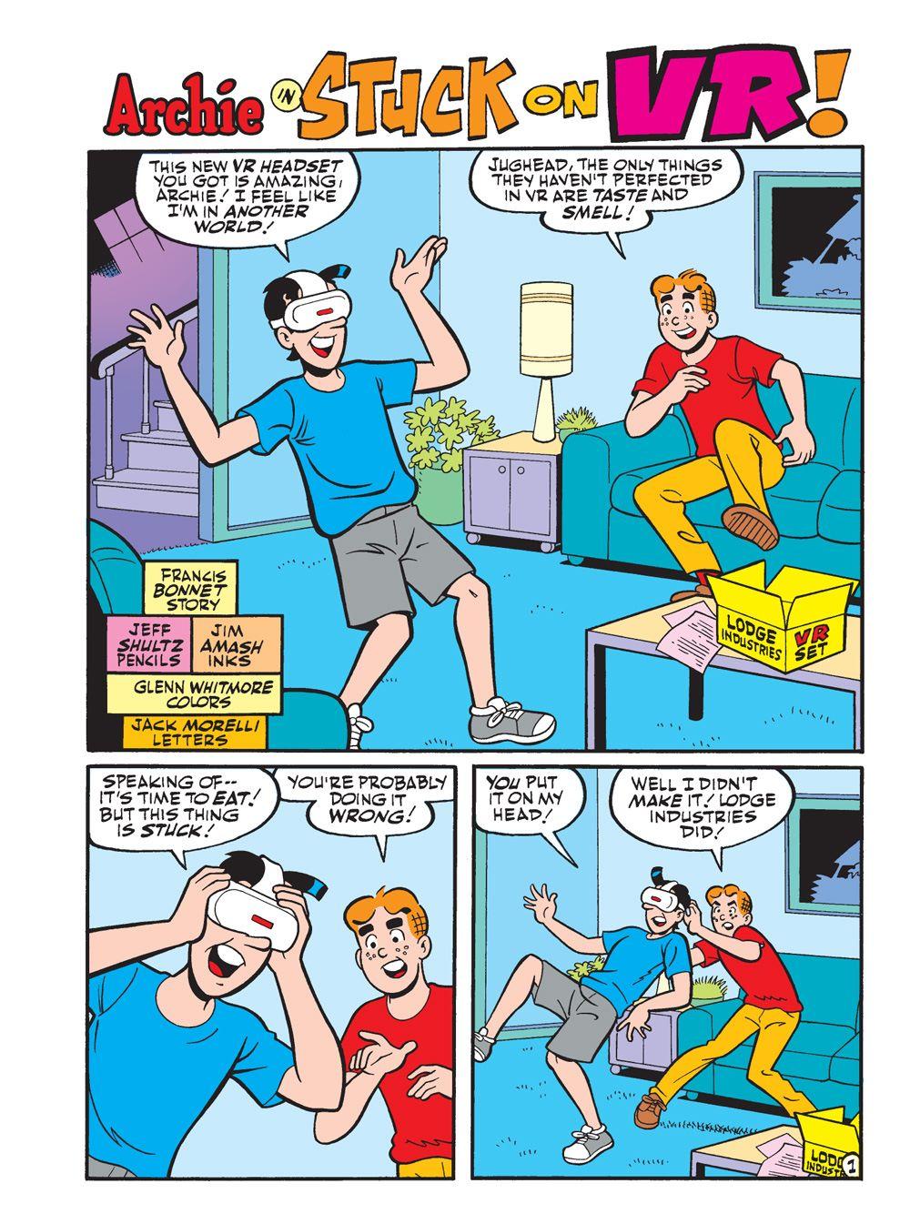 WorldOfArchieJumboComicsDigest_111_2 ComicList Previews: WORLD OF ARCHIE JUMBO COMICS DIGEST #111