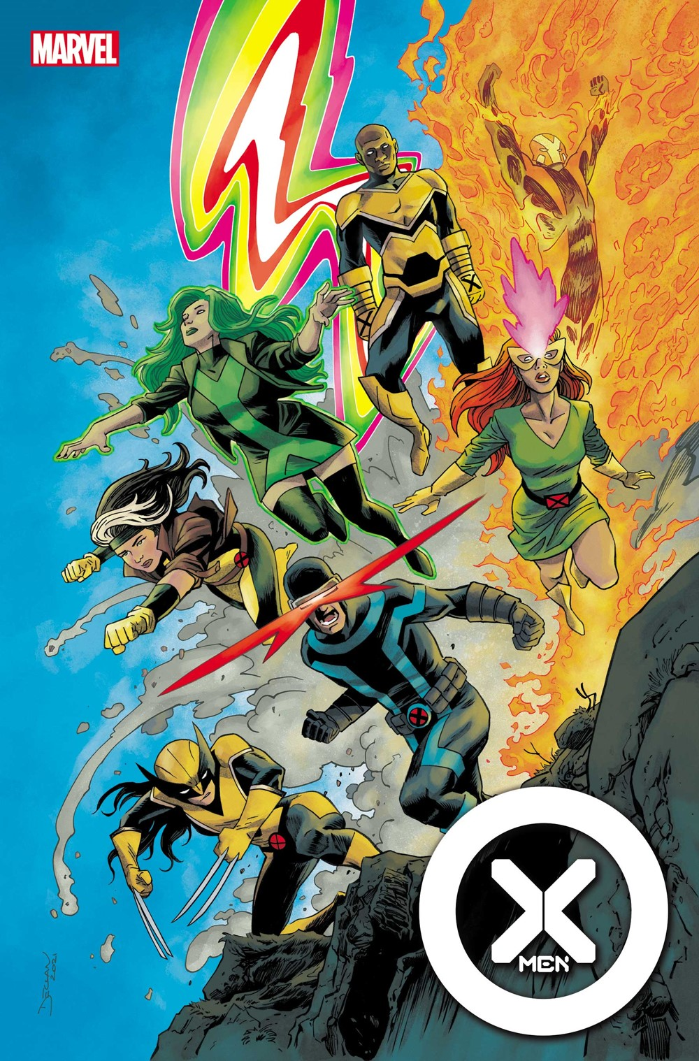 XMEN2021004_Shalvey_var Marvel Comics October 2021 Solicitations