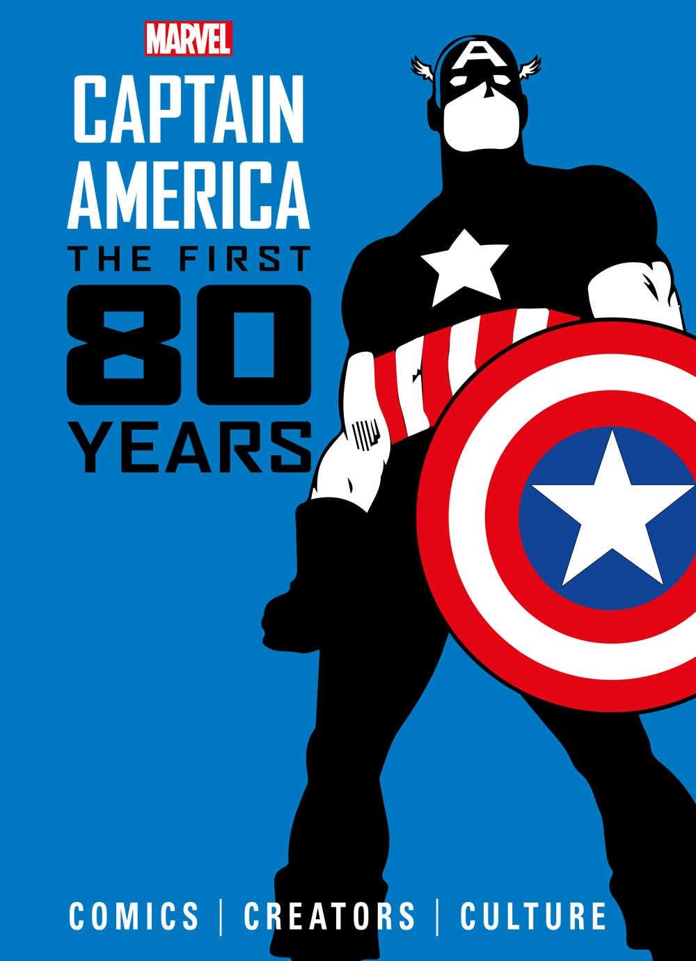 hardcover ComicList Previews: MARVEL COMICS CAPTAIN AMERICA THE FIRST 80 YEARS