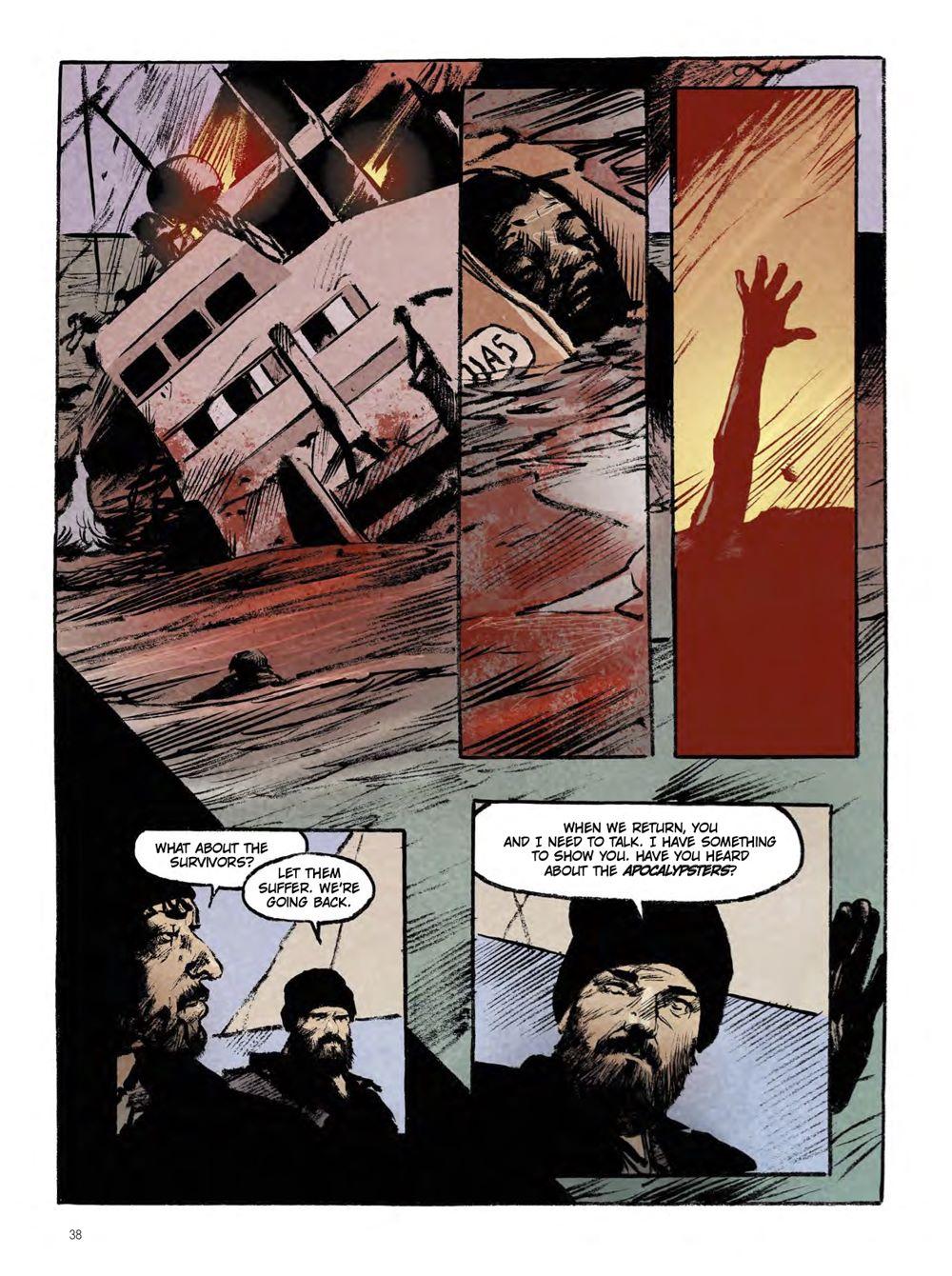 snowpiercer_the_prequel-extinction-3 ComicList Previews: SNOWPIERCER PREQUEL VOLUME 1 EXTINCTION GN