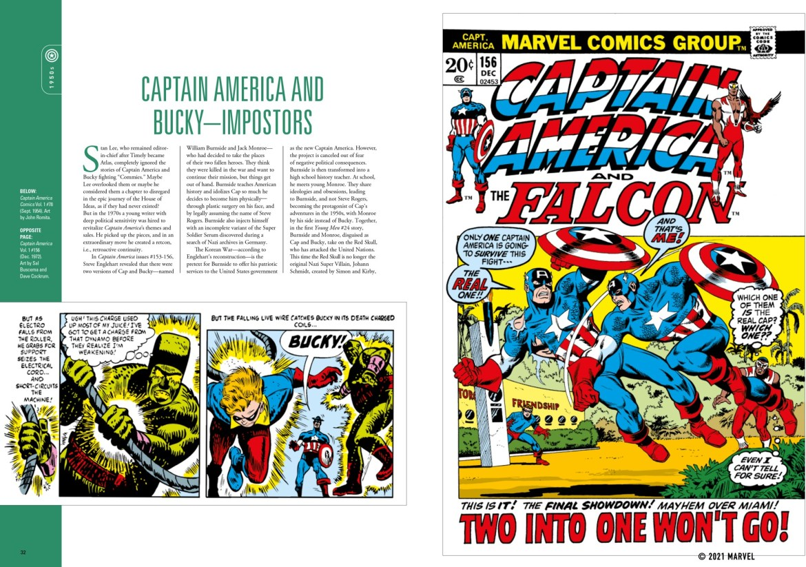 spread_2 ComicList Previews: MARVEL COMICS CAPTAIN AMERICA THE FIRST 80 YEARS