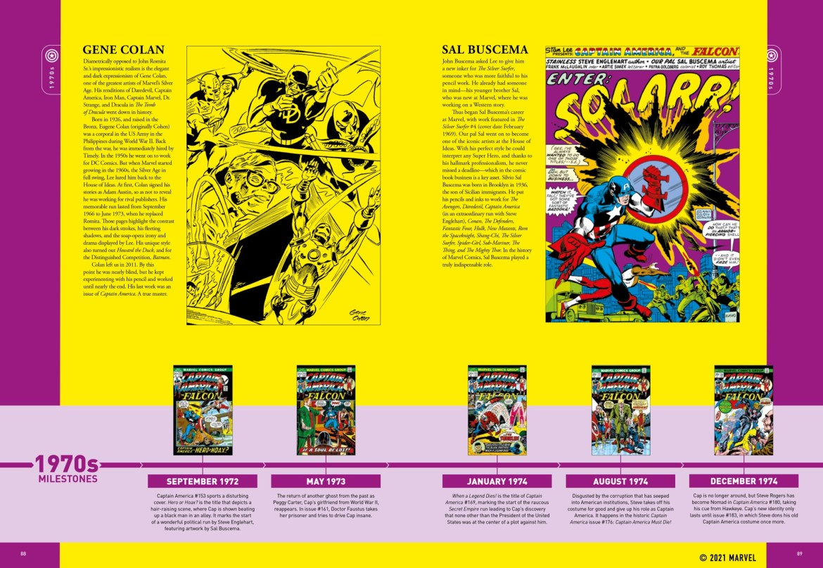 spread_4 ComicList Previews: MARVEL COMICS CAPTAIN AMERICA THE FIRST 80 YEARS
