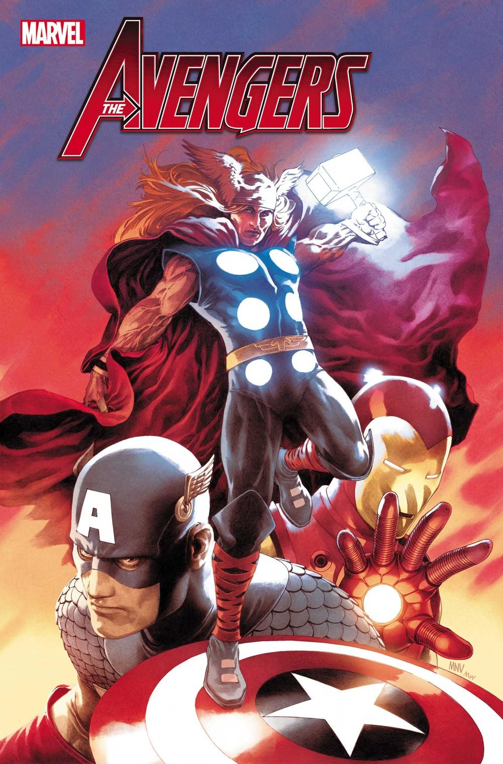 AVEN2018050_McNiven-var-1 Marvel Comics November 2021 Solicitations