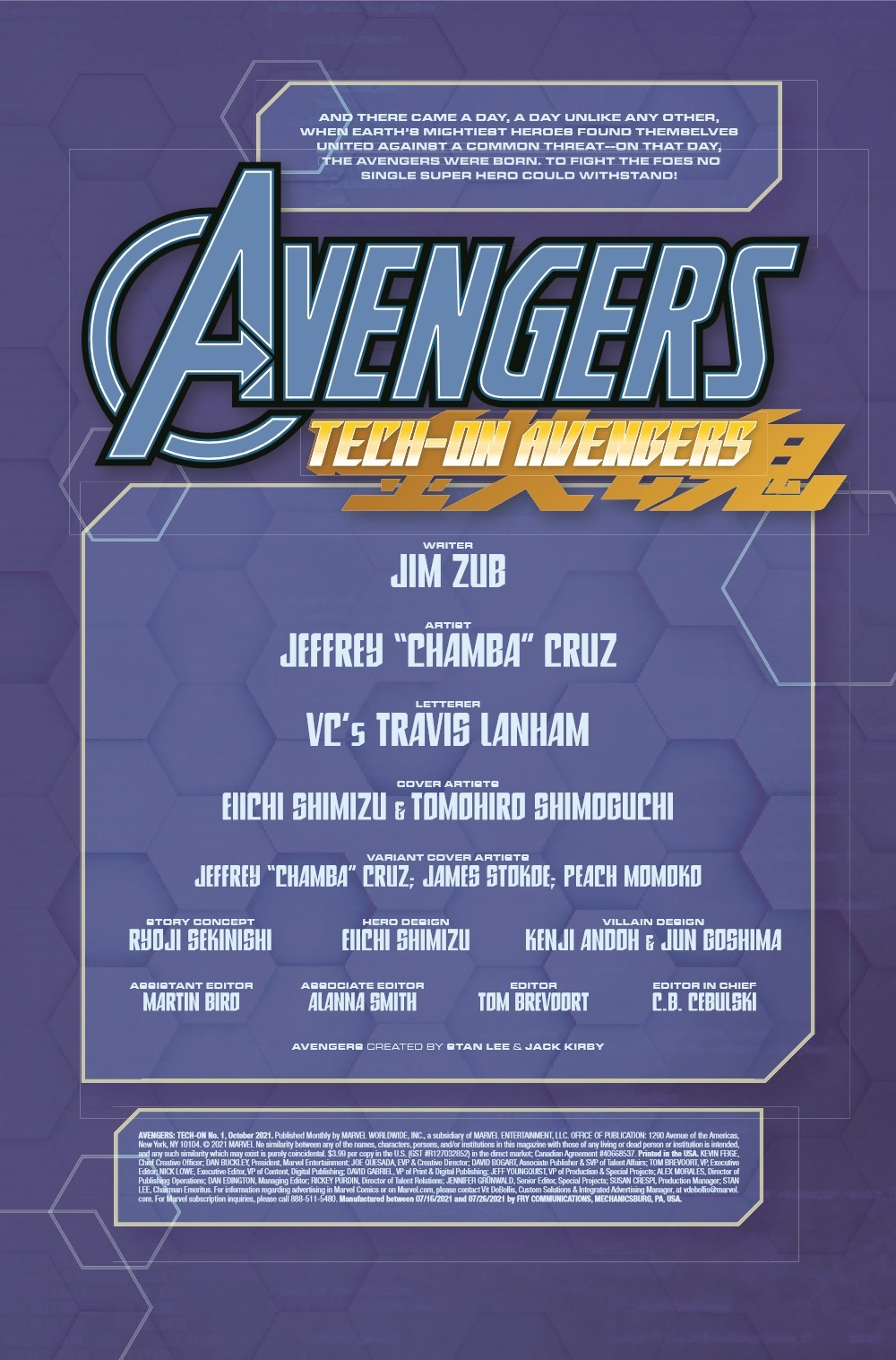 AVENTECHON2021001_Preview-2 ComicList Previews: AVENGERS TECH-ON #1 (OF 6)