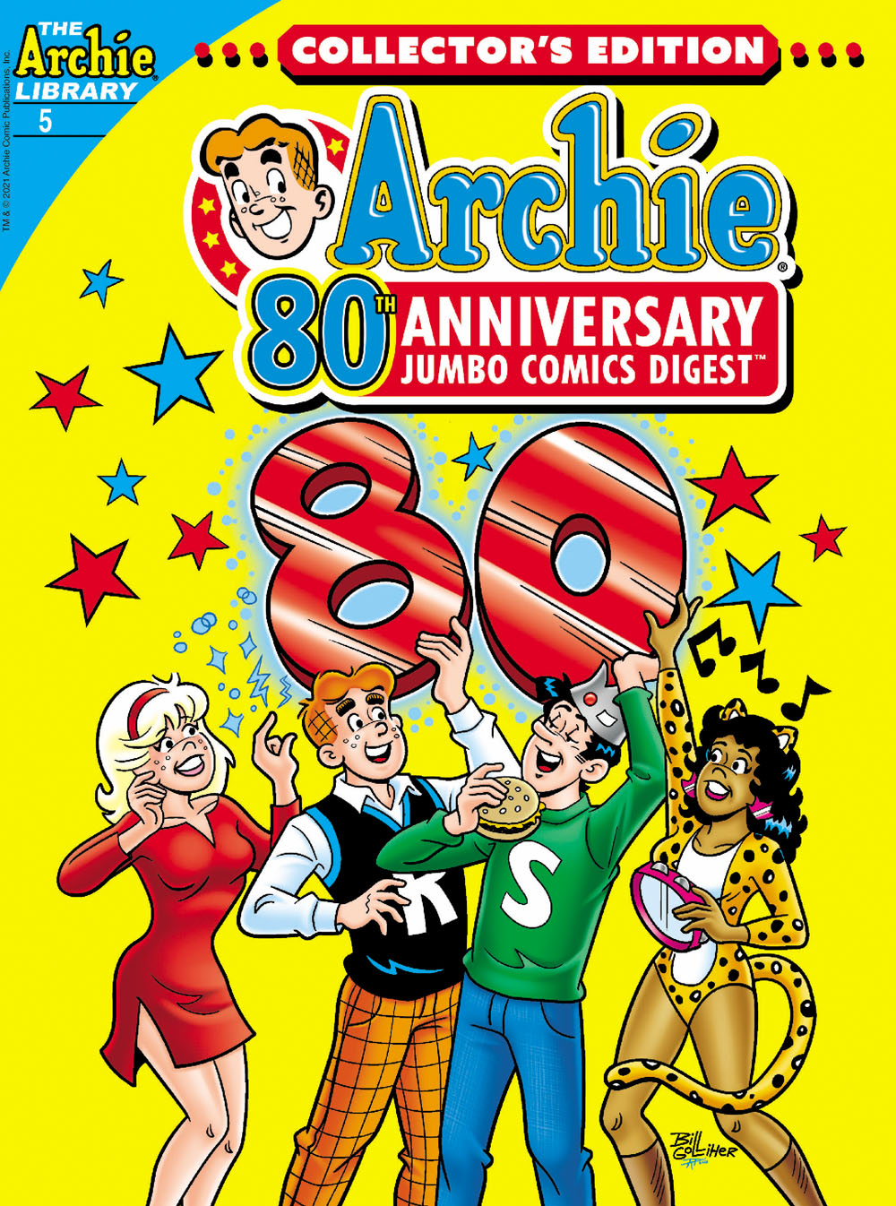 Archie80thDig5 Archie Comic Publications November 2021 Solicitations