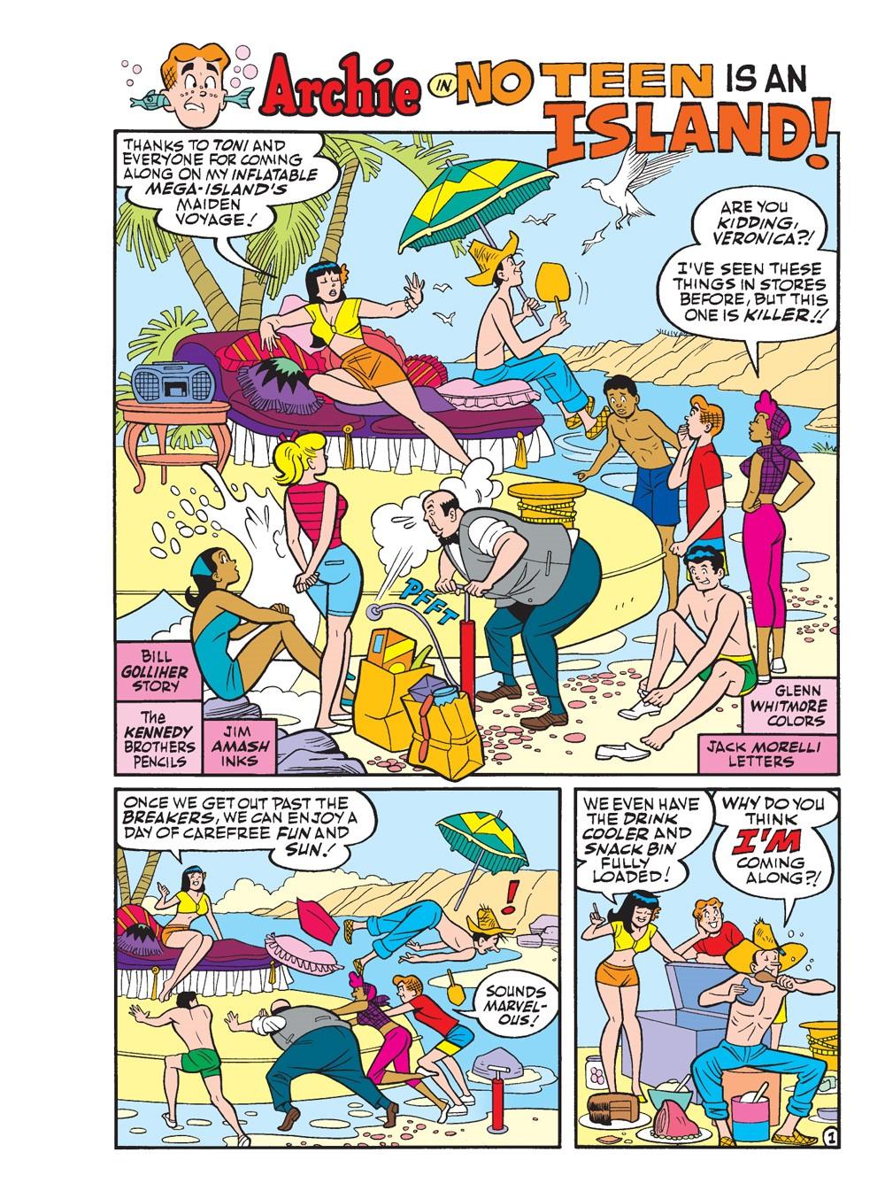 ArchieJumboComicsDigest_322_02 ComicList Previews: ARCHIE JUMBO COMICS DIGEST #322