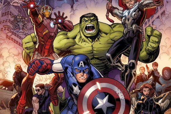 Avengers50_InfinitySaga_Variant INFINITY SAGA PHASE 1 VARIANT COVERS will honor the MCU