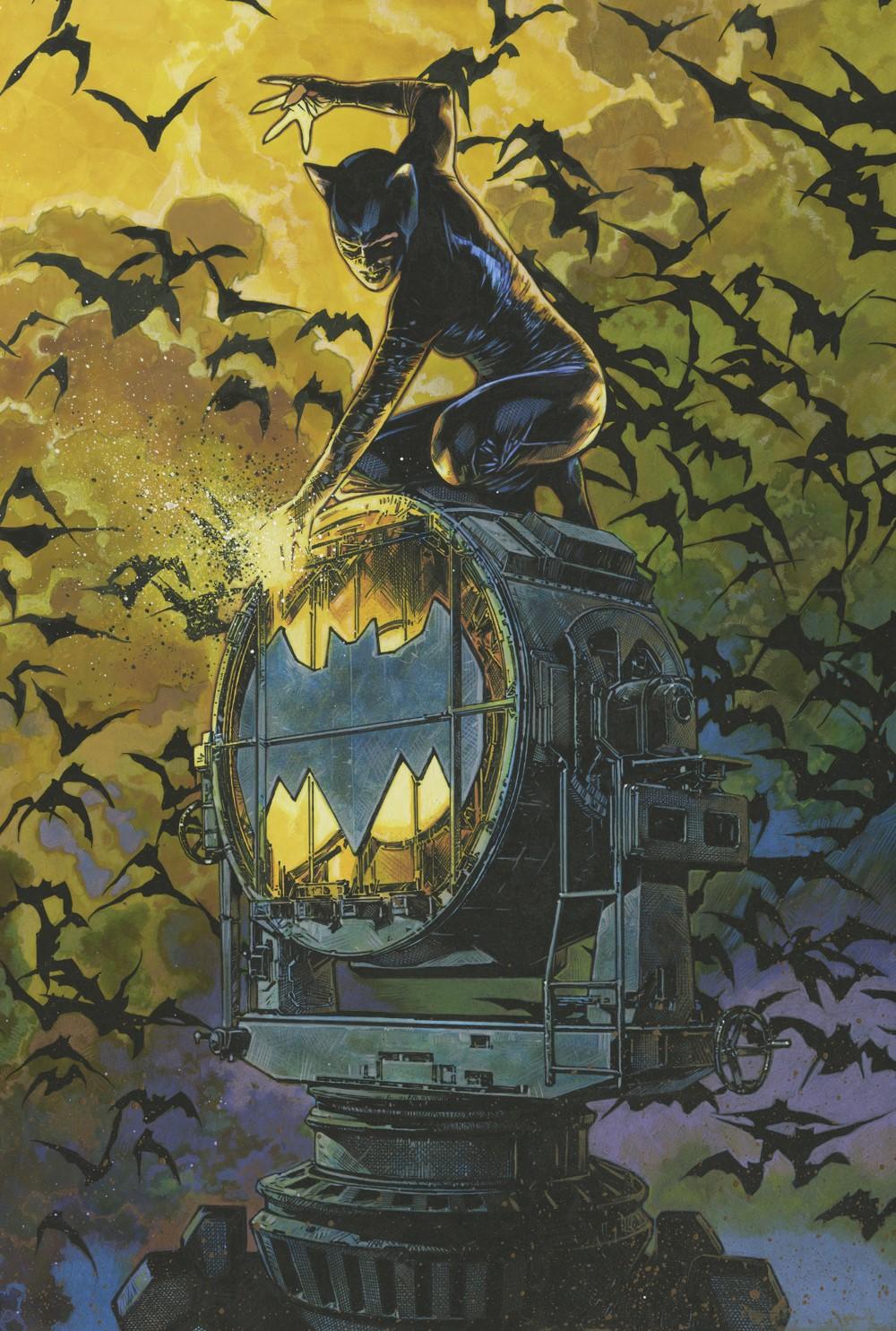 BatmanCatwoman_8_9variant DC Comics November 2021 Solicitations