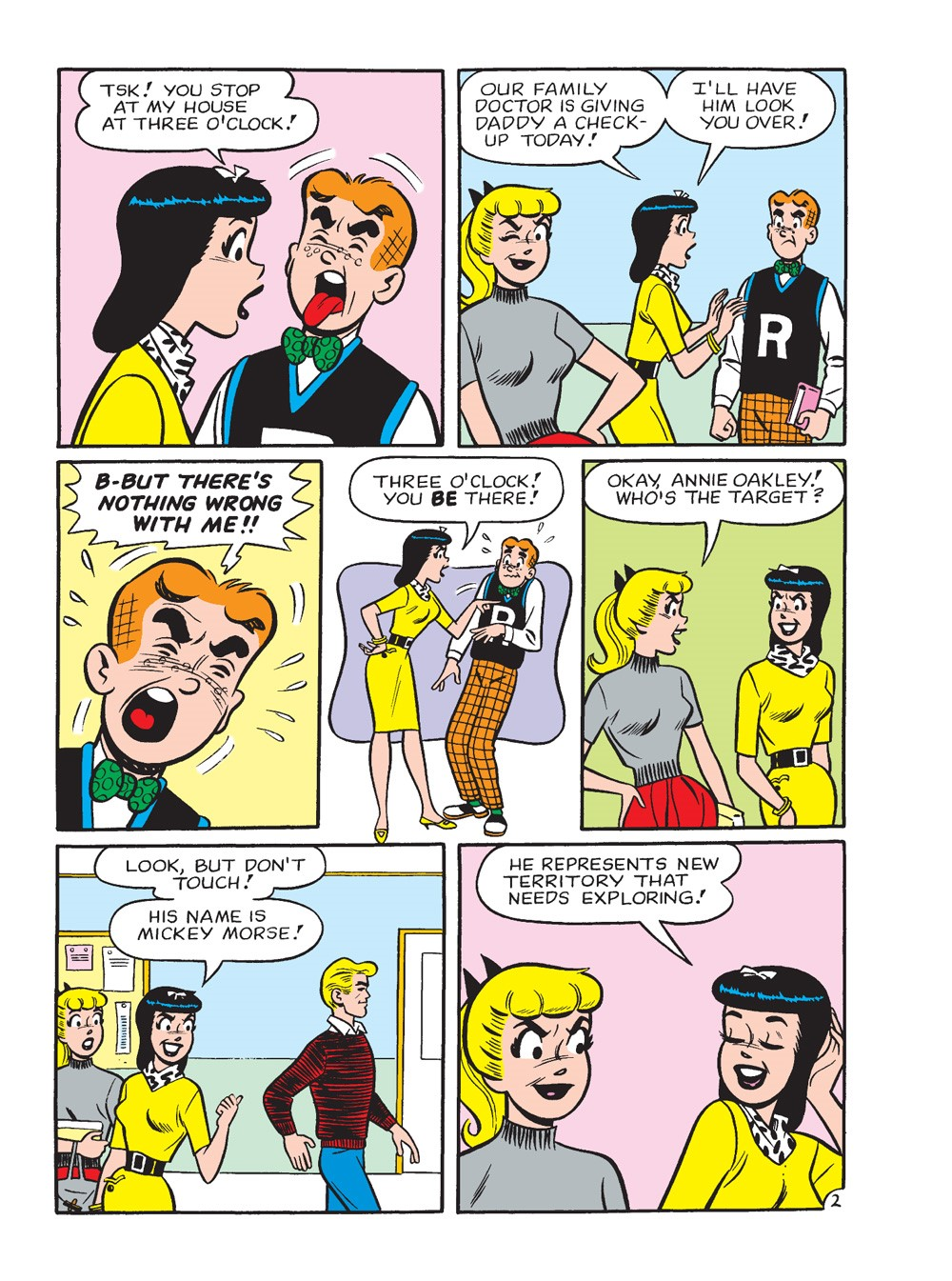 BettyAndVeronicaJumboComicsDigest_296_63 ComicList Previews: BETTY AND VERONICA JUMBO COMICS DIGEST #296