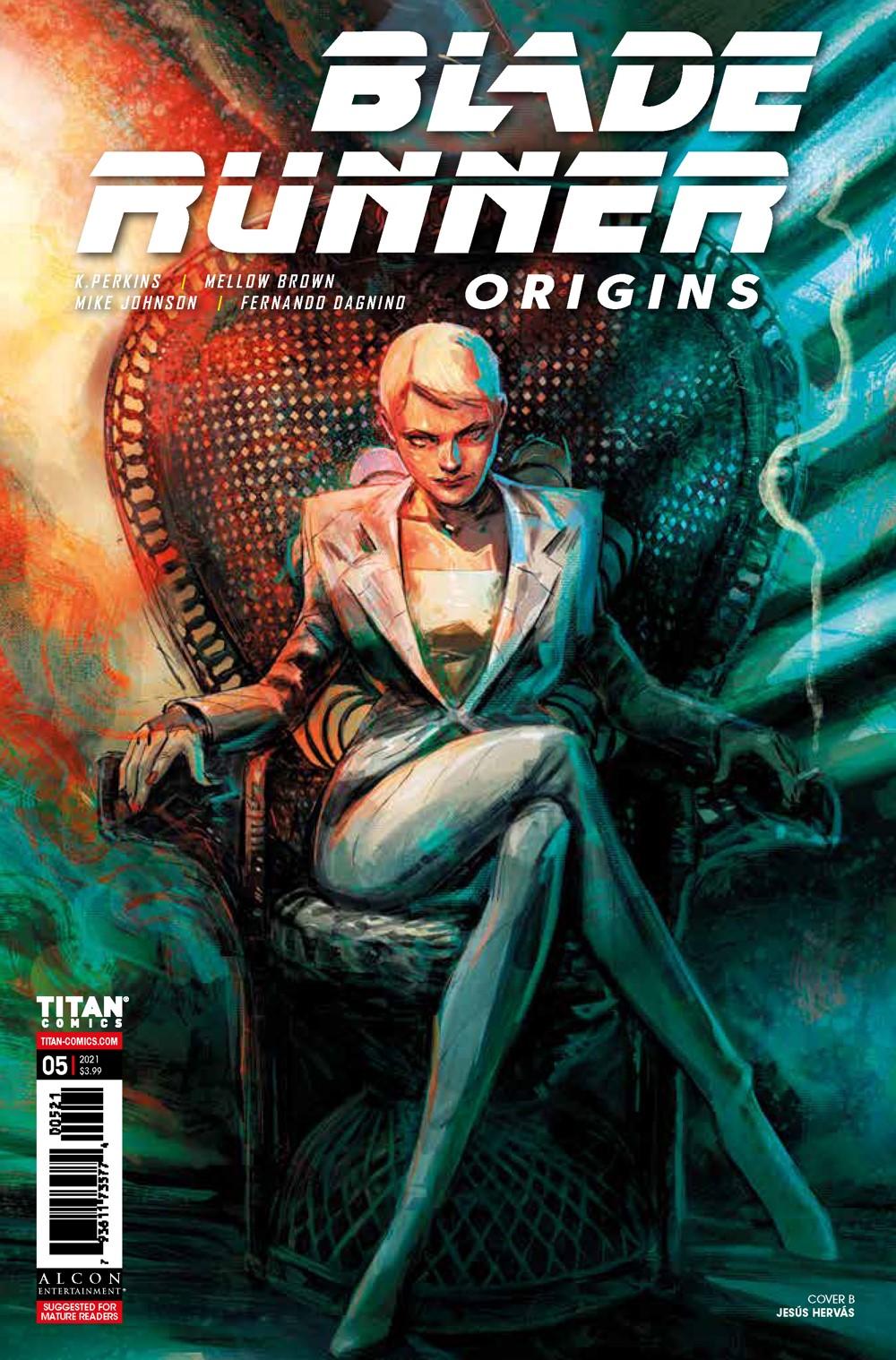 Blade_Runner_Origins_5_COVERS_B ComicList Previews: BLADE RUNNER ORIGINS #5