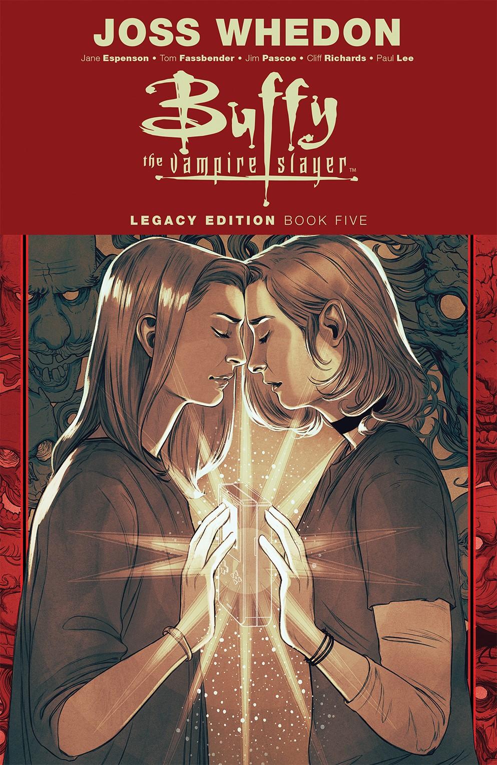 Buffy_Legacy_v5_SC_Cover ComicList Previews: BUFFY VAMPIRE SLAYER LEGACY EDITION VOLUME 5 TP