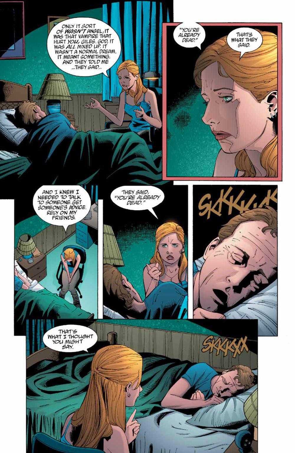 Buffy_Legacy_v5_SC_PRESS_10 ComicList Previews: BUFFY VAMPIRE SLAYER LEGACY EDITION VOLUME 5 TP
