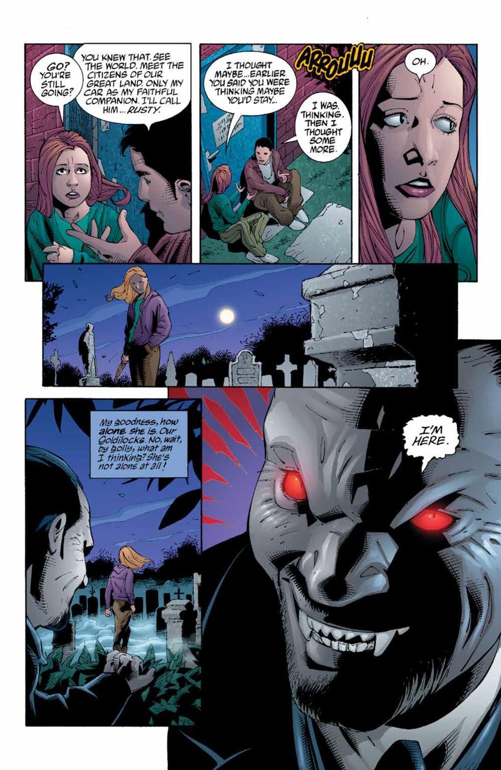 Buffy_Legacy_v5_SC_PRESS_17 ComicList Previews: BUFFY VAMPIRE SLAYER LEGACY EDITION VOLUME 5 TP