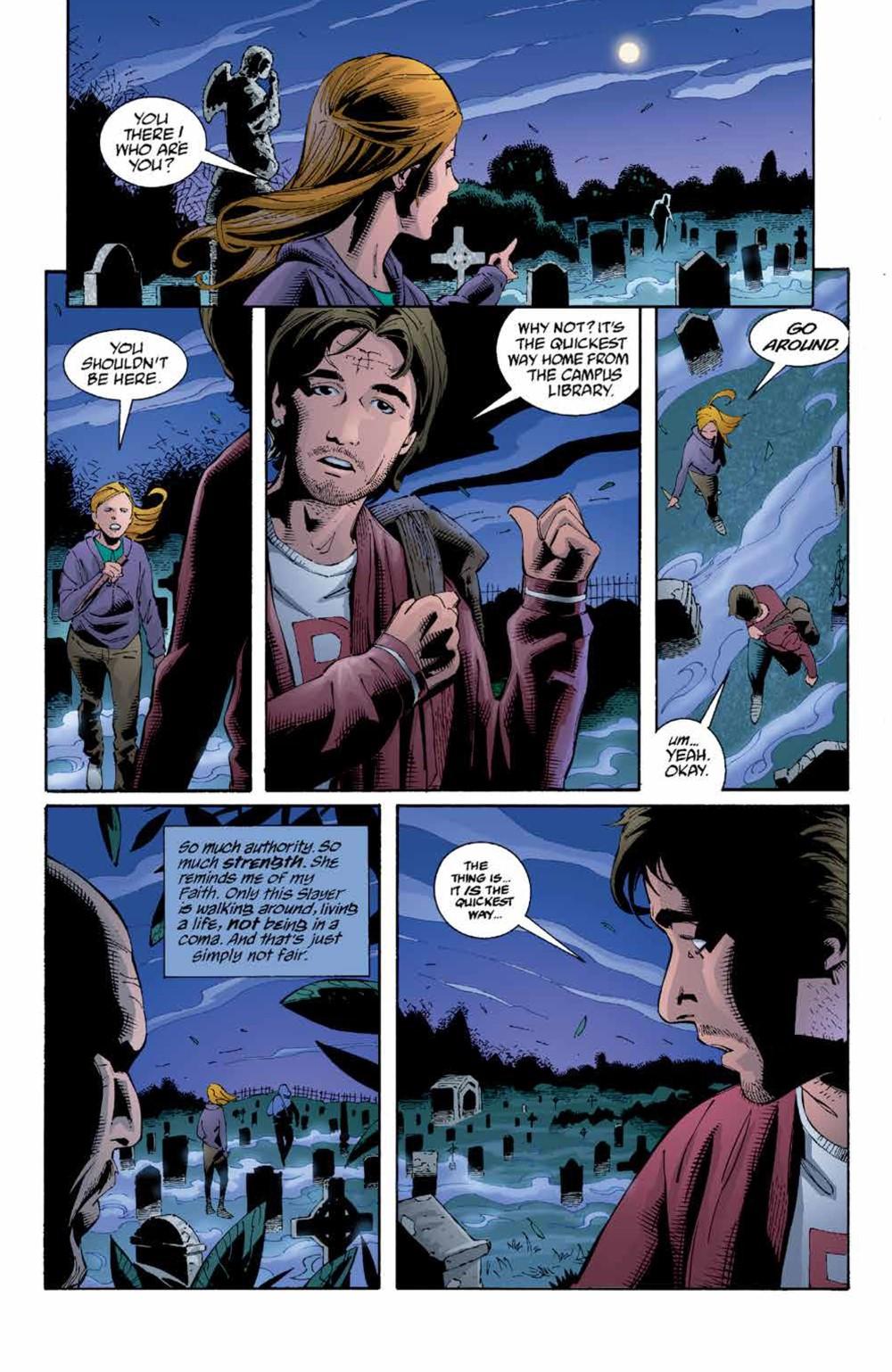 Buffy_Legacy_v5_SC_PRESS_18 ComicList Previews: BUFFY VAMPIRE SLAYER LEGACY EDITION VOLUME 5 TP