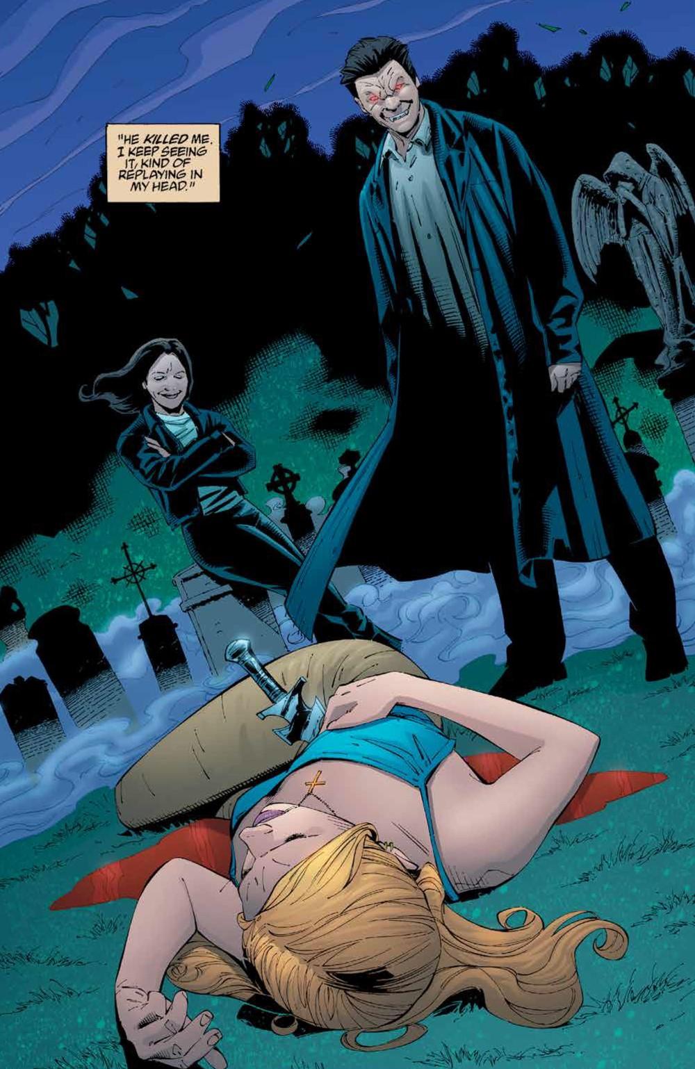 Buffy_Legacy_v5_SC_PRESS_9 ComicList Previews: BUFFY VAMPIRE SLAYER LEGACY EDITION VOLUME 5 TP