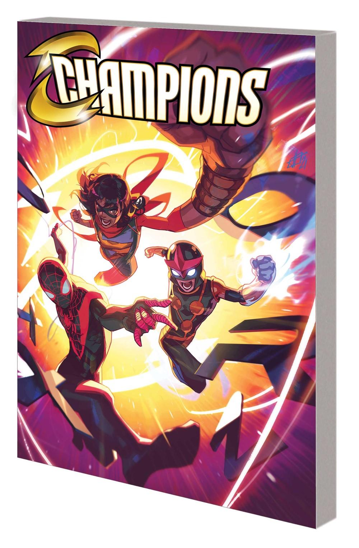 CHAMPIONS_VOL_2_TPB Marvel Comics November 2021 Solicitations