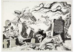 Captain-America-113-Original-Art-by-Jim-Steranko-e1629730383408-300x210 Jim Steranko Original Art: Rare Auction for Comic Legend
