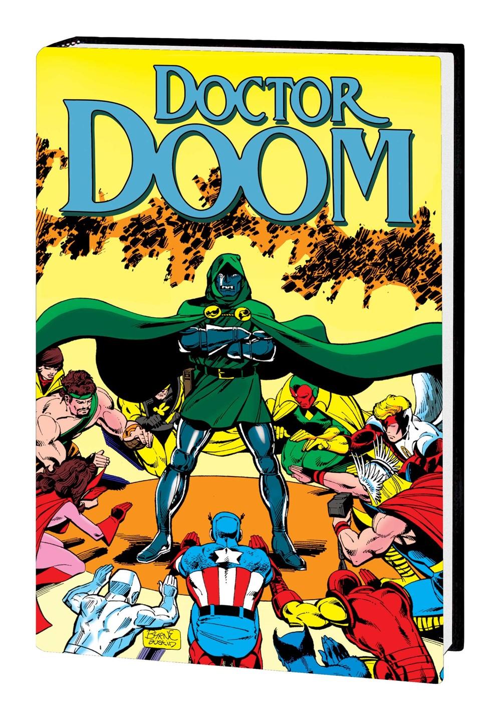 DOOMBOD_OMNI_HC_VAR Marvel Comics November 2021 Solicitations