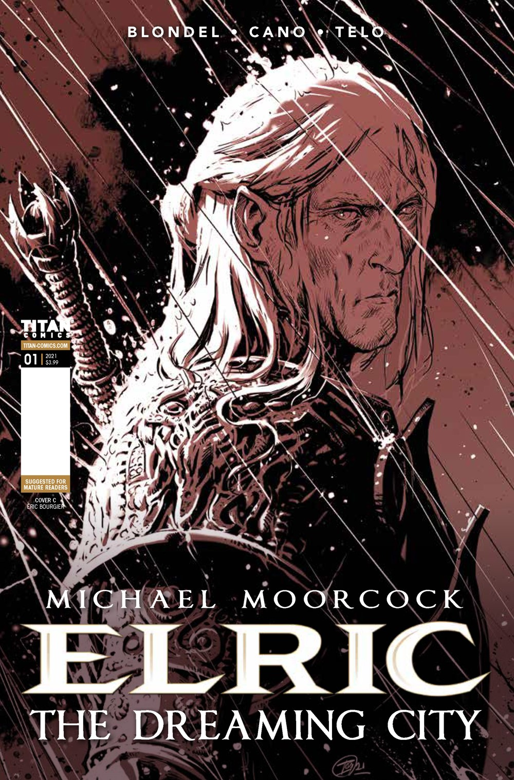 Elric_1_Cover_C ComicList Previews: ELRIC THE DREAMING CITY #1