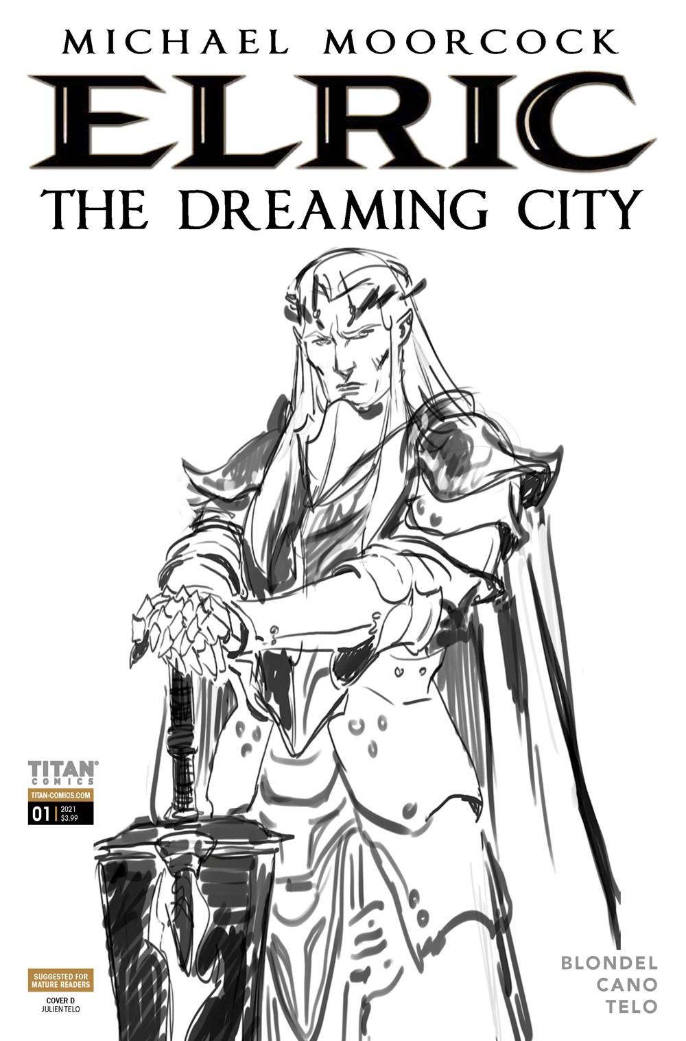 Elric_1_Cover_D ComicList Previews: ELRIC THE DREAMING CITY #1