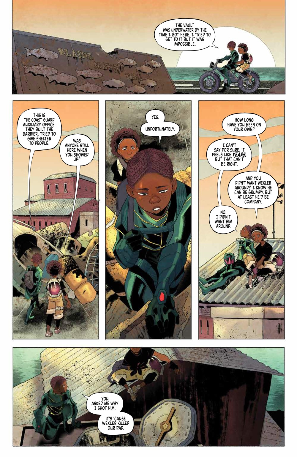 Eve_004_PRESS_8 ComicList Previews: EVE #4 (OF 5)